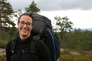 Angeliqa Mejstedt på Höga Kusten